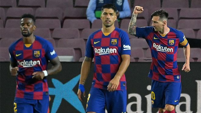 Messi alcanza los 700 goles