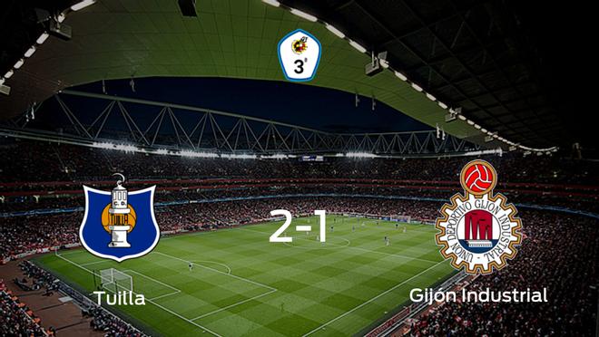 Tres puntos para el equipo local: Tuilla 2-1 Gijón Industrial