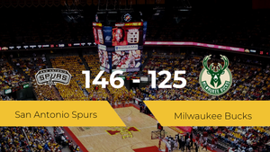 San Antonio Spurs consigue derrotar a Milwaukee Bucks (146-125)