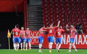 Luego de un empate y dos derrotas, el Granada aún no se reencuentra con su mejor faceta liguera