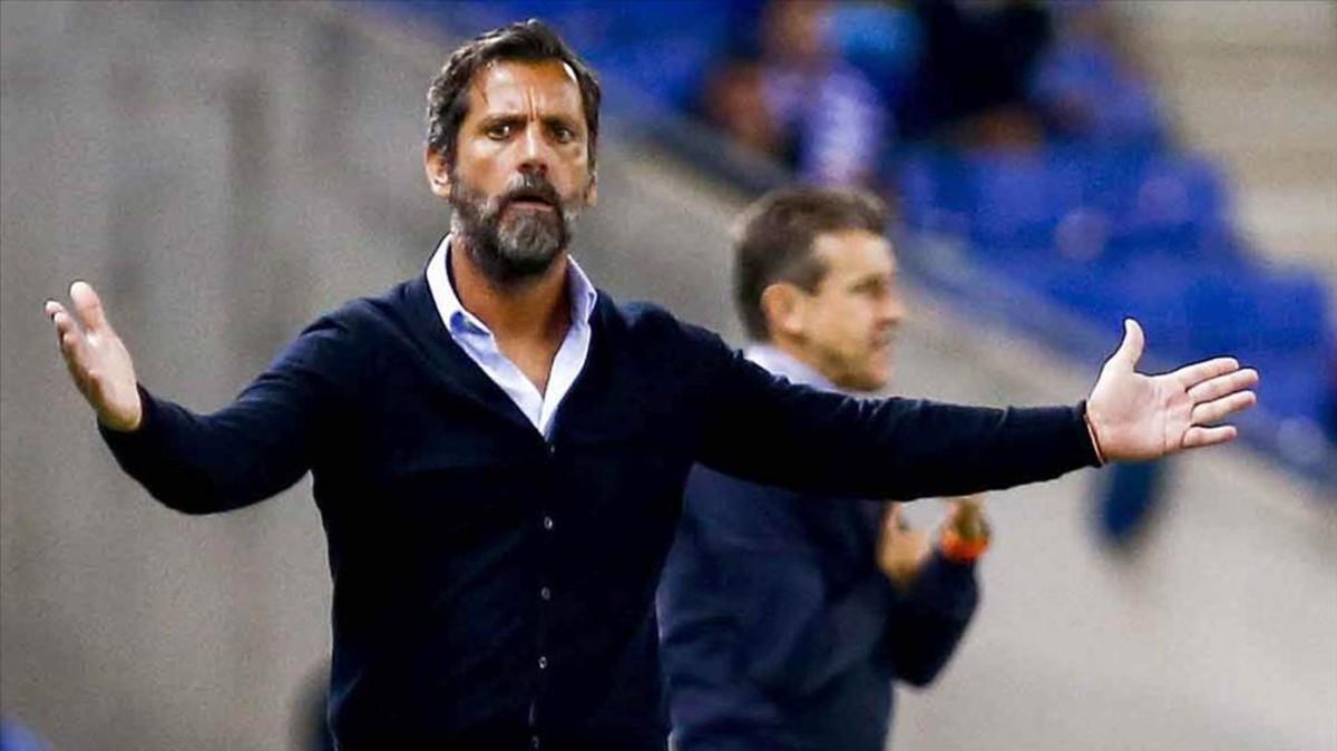 Quique podría abandonar el Espanyol a fin de curso