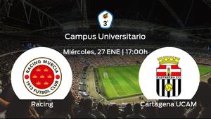 Previa del encuentro: Racing Murcia - Cartagena F.C. UCAM