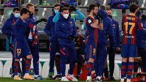 Pjanic y Trincao se ejercitaron después del partido ante la Real Sociedad