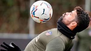 Diego Costa vuelve a los entrenamientos