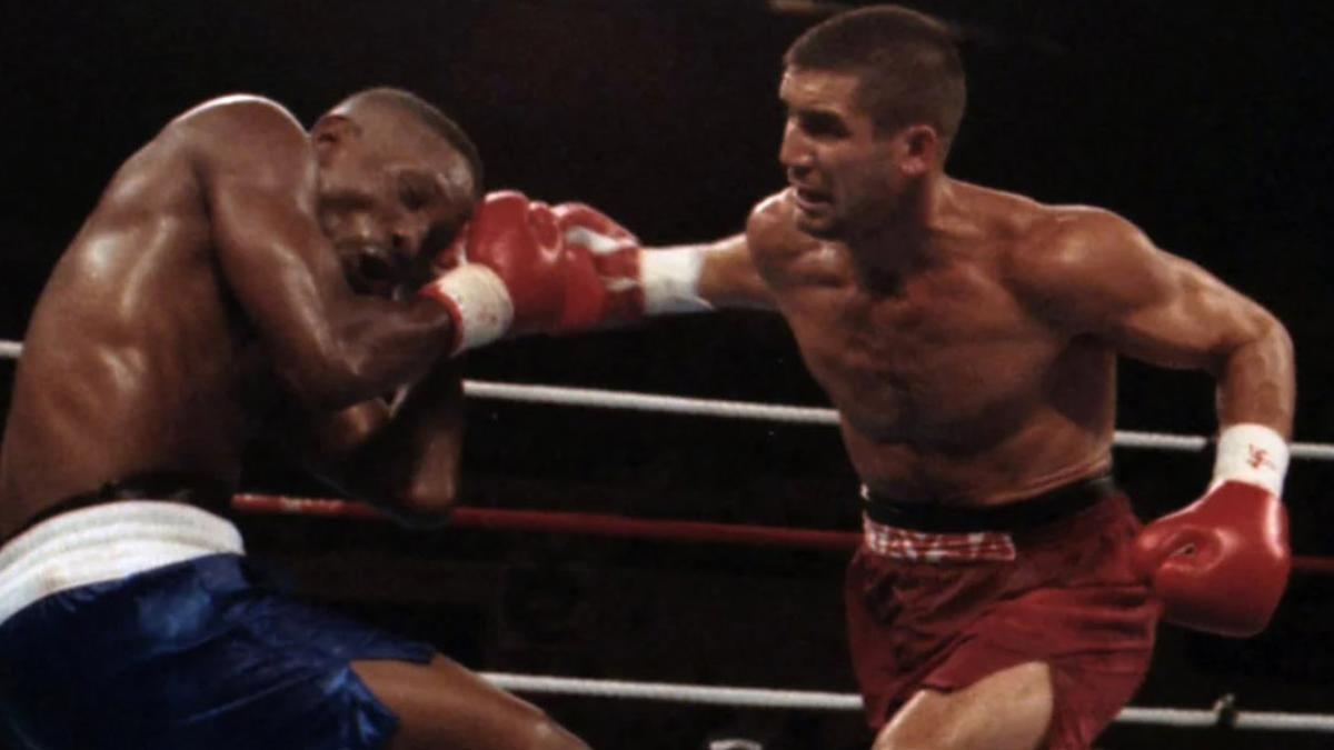 Poli Díaz, en su histórica pelea ante Pernell Whitaker