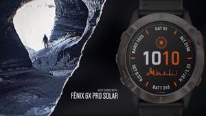 El nuevo Fenix 6X Pro Solar