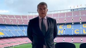 El mensaje de Joan Laporta sobre la Asamblea y el Espai Barça