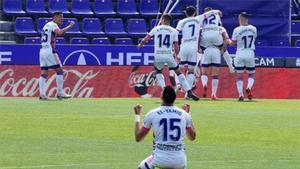 El Valladolid suma tres importantes puntos ante el Getafe