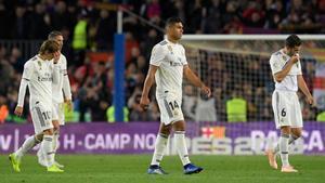 La crisis del Madrid estalla con la derrota del Camp Nou