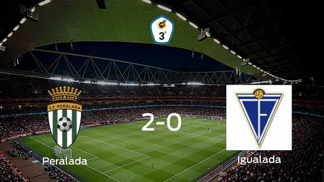 El CF Peralada gana 2-0 ante el Igualada