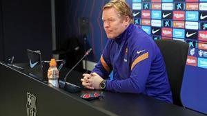 Koeman analiza cómo llega el Barça a la final: Es importante para el club ganar la Copa