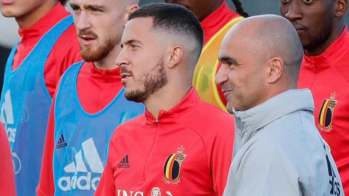 Robert Martínez considera que Hazard necesita tener más minutos