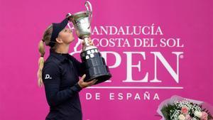 Pedersen, feliz con la conquista del Open de España