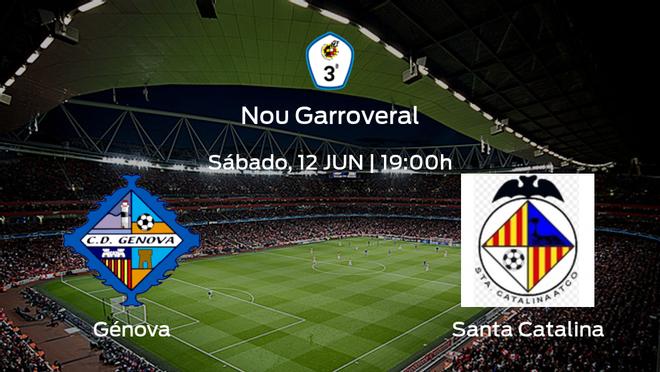 Previa del partido: CD Génova - Santa Catalina Atlético