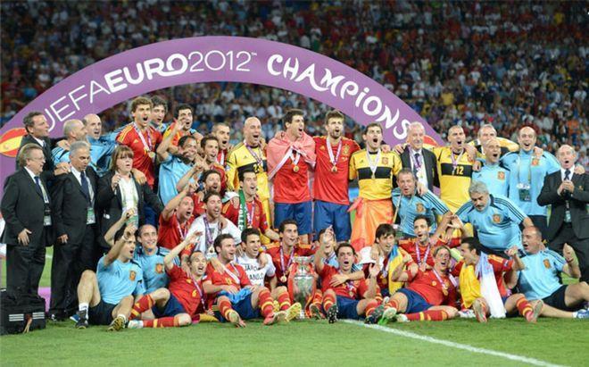 España empató a Alemania con tres títulos de Eurocopa