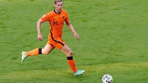De Jong, ante Ucrania en el Cruyff Arena