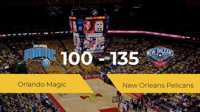 New Orleans Pelicans se impone por 100-135 frente a Orlando Magic