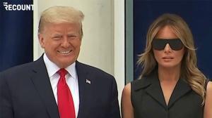 Algunos de los gestos de Melania hacia Trump que han llamado la atención