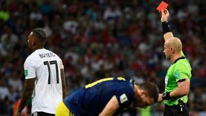 Jérôme Boateng, uno de los jugadores expulsados en Rusia
