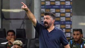 Gattuso no atraviesa un buen momento con el Nápoles