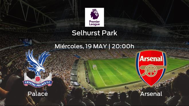 Previa del encuentro: el Crystal Palace recibe al Arsenal en la trigésimo séptima jornada