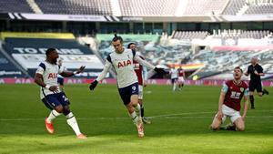 El resumen de la goleada del Tottenham al Burnley