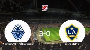 El Vancouver Whitecaps se queda con los tres puntos frente al LA Galaxy (3-0)
