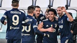 La Juve celebrando el segundo gol