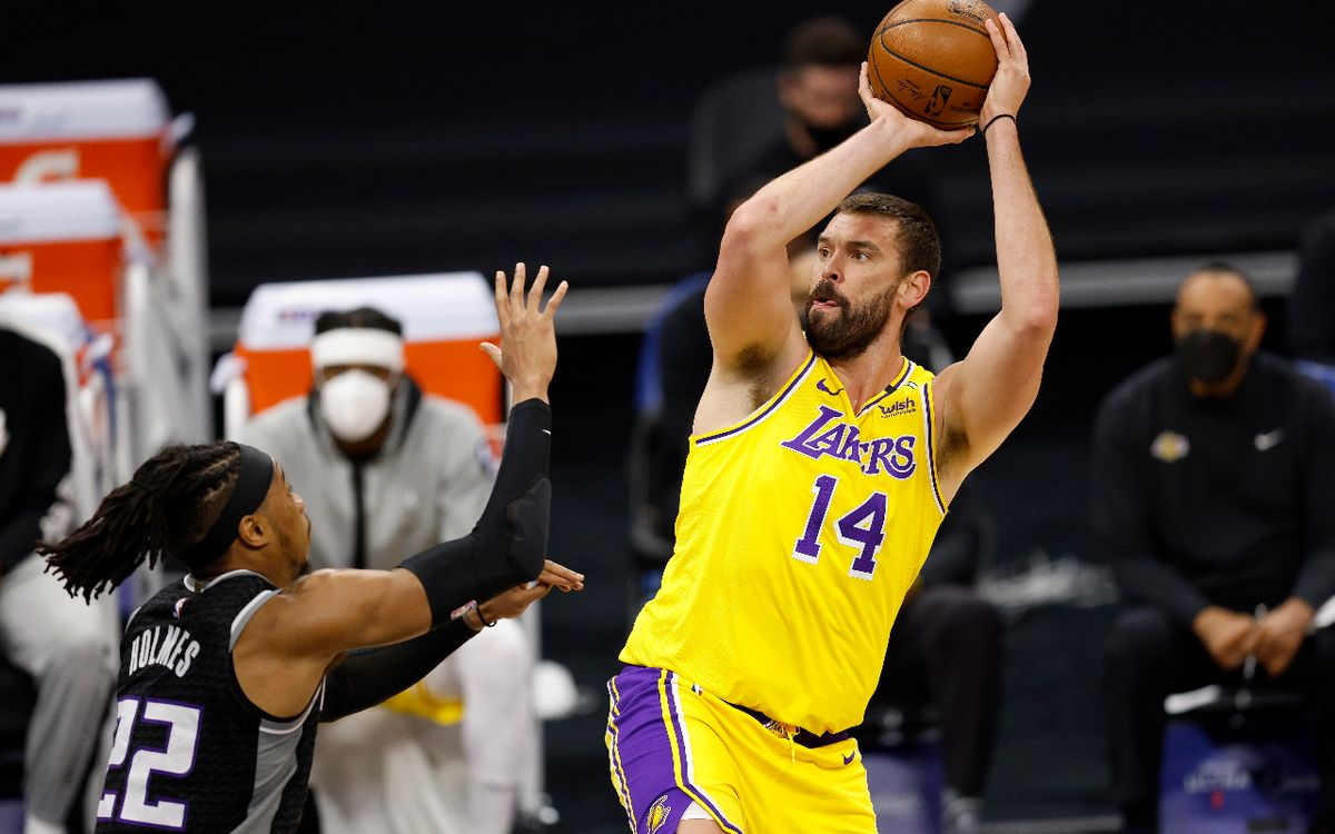 Los Lakers quisieron traspasar a Marc a los Timberwolves
