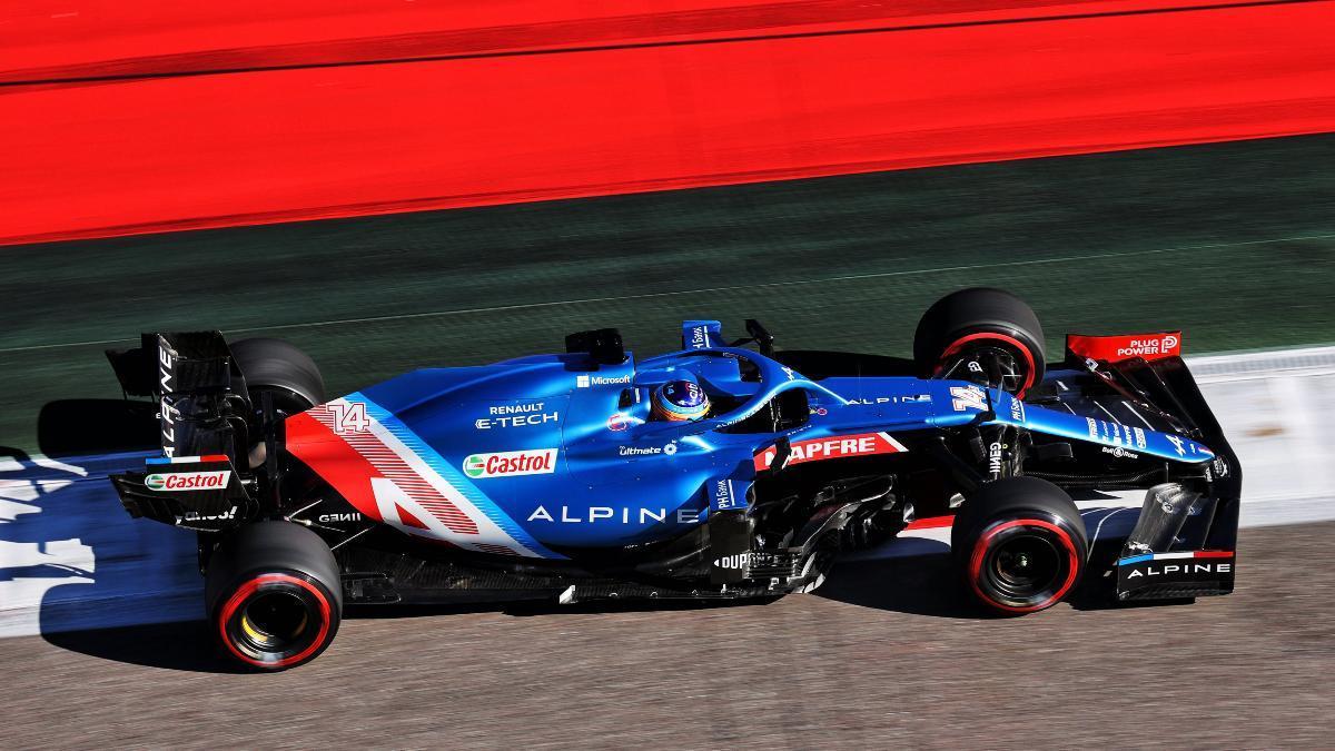 Alonso es sexto en Sochi