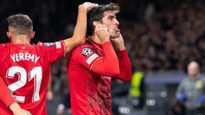 El gol de Gerard Moreno ante el Young Boys