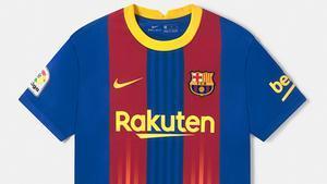 Esta será la camiseta que el Barcelona llevará en el clásico