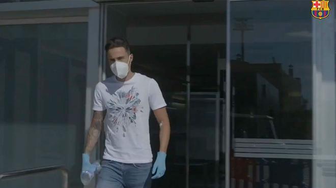 Los jugadores del Barça de Fútbol Sala se realizaron las pruebas del coronavirus