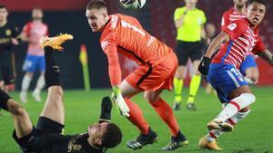 Dest cometió el penalti del empate del Granada