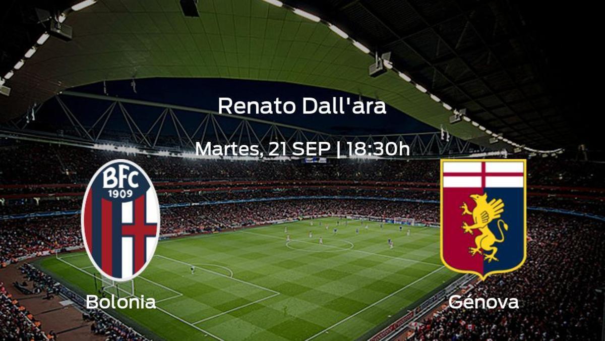 Previa del partido: Bolonia - Génova