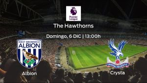 Previa del partido: West Bromwich Albion - Crystal Palace
