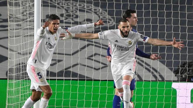 Karim Benzema no faltó a su cita con el gol ante el Chelsea