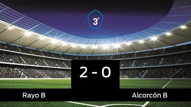 El Rayo B derrotó al Alcorcón B por 2-0