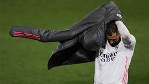 Karim Benzema no jugará, salvo sorpresa, ante el Atalanta