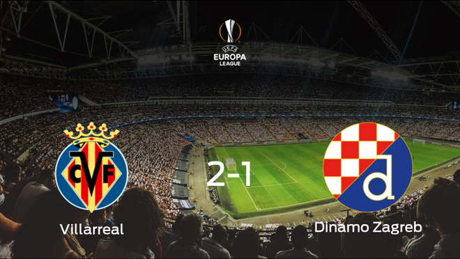 El Villarreal se clasifica para semifinales tras derrotar al Dinamo Zagreb por 2-1