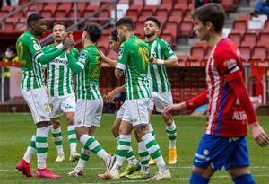 El Betis se impuso en Gijón