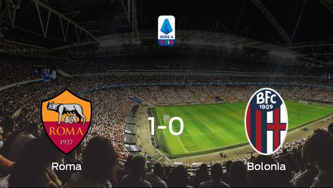 La AS Roma consigue los tres puntos frente al Bolonia (1-0)