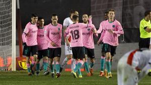 Un brillante De Jong conduce al Barça a cuartos de Copa del Rey