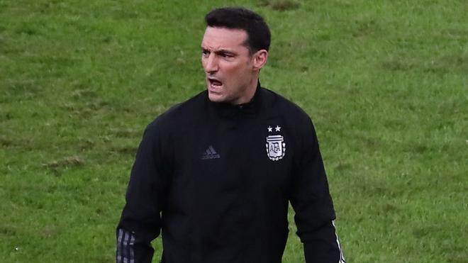 Scaloni revela que Messi jugó la final con molestias en el isquiotibial