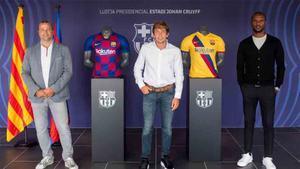 Sergi Rosanas firmó su renovación con el Barça hasta 2023