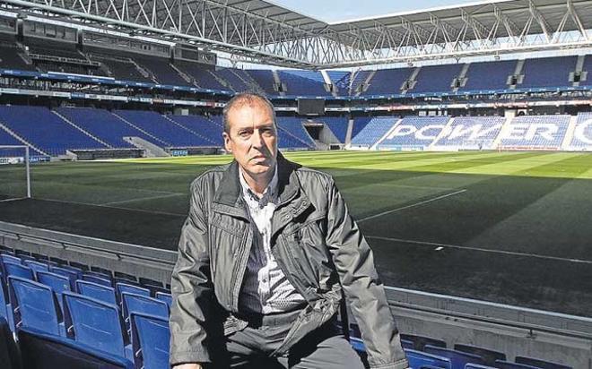 Agustín Martínez, director de mantenimiento del RCE Espanyol