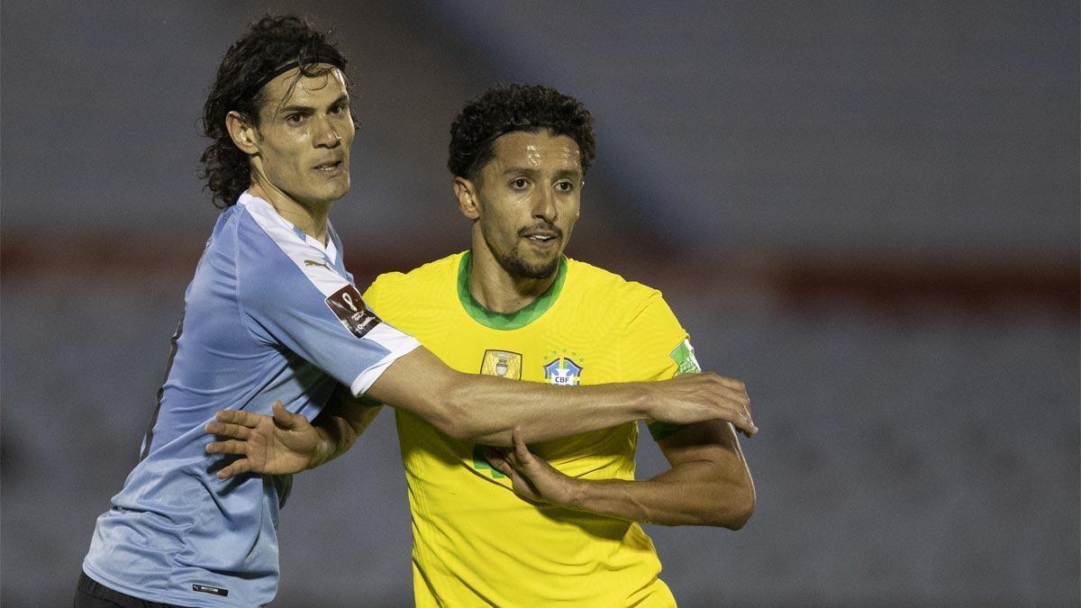 Cavani y Marquinhos, excolegas en el PSG, vivirán un nuevo duelo