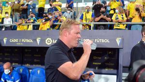 Koeman dirigió al equipo en el Nuevo Mirandilla