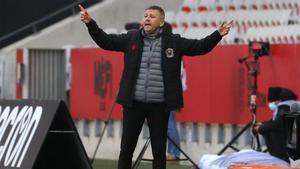 Adrian Ursea, entrenador del Niza
