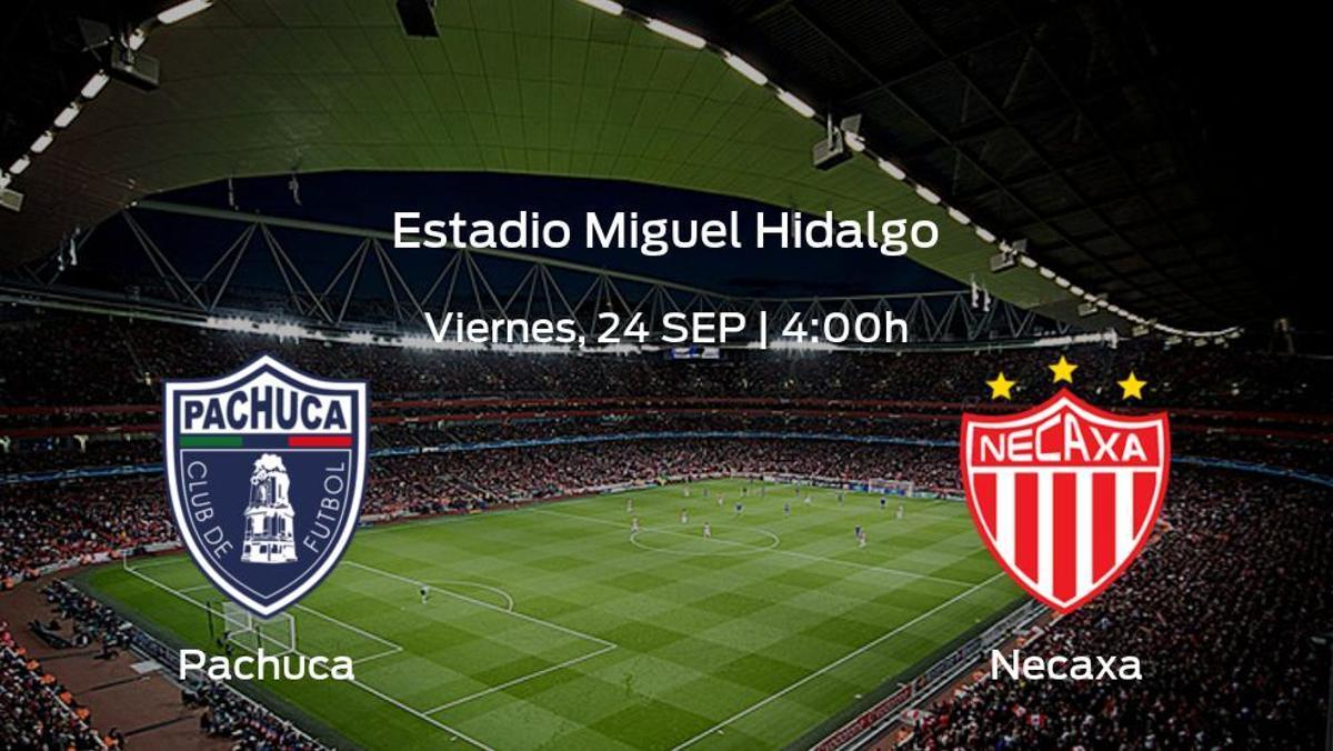 Previa del partido de la jornada 10: Pachuca contra Necaxa
